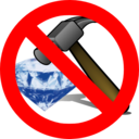 No Breaking A Diamond With A Hammer