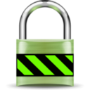 download Secure Padlock Gold clipart image with 45 hue color