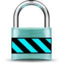download Secure Padlock Gold clipart image with 135 hue color