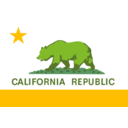 download Flag Of The State Of California clipart image with 45 hue color