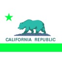 download Flag Of The State Of California clipart image with 135 hue color