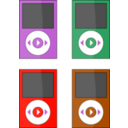 download Ipod clipart image with 315 hue color