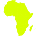download African Continent clipart image with 45 hue color