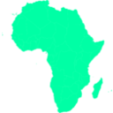 download African Continent clipart image with 135 hue color