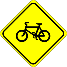 Roadsign Watch For Bicycles