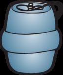 Keg Illustration By Fatty Matty Brewing