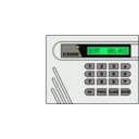 download Alarm System S2000 clipart image with 45 hue color