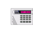 download Alarm System S2000 clipart image with 225 hue color