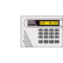 download Alarm System S2000 clipart image with 315 hue color
