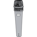download Microphone clipart image with 135 hue color
