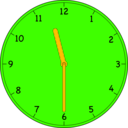 download Clock clipart image with 45 hue color