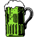 download Foamy Mug Of Beer clipart image with 45 hue color
