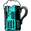 download Foamy Mug Of Beer clipart image with 135 hue color
