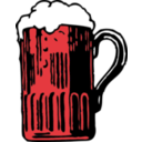 download Foamy Mug Of Beer clipart image with 315 hue color