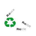 download Reduce Re Use Recycle clipart image with 45 hue color