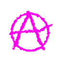 download Anarchism clipart image with 315 hue color