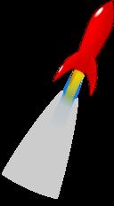 Launching Red Rocket