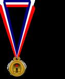 Medaille Du Hamster