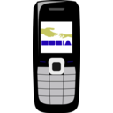 download Cellphone2 clipart image with 45 hue color