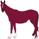 download Horse clipart image with 315 hue color