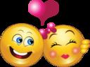Couple Smiley Emoticon