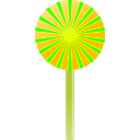 download Lollipop clipart image with 45 hue color