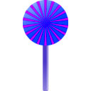 download Lollipop clipart image with 225 hue color