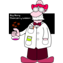 download Professorofchemistry clipart image with 315 hue color