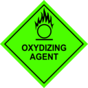download Oxidizing Agent Sign clipart image with 45 hue color