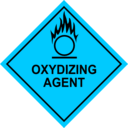 download Oxidizing Agent Sign clipart image with 135 hue color