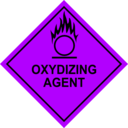 download Oxidizing Agent Sign clipart image with 225 hue color