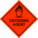 download Oxidizing Agent Sign clipart image with 315 hue color