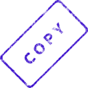 download Copy Business Stamp 2 clipart image with 45 hue color
