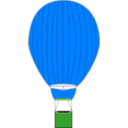 download Hot Air Balloon clipart image with 90 hue color