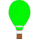 download Hot Air Balloon clipart image with 0 hue color