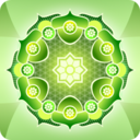 Simple Green Mandala