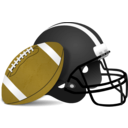 download Football clipart image with 45 hue color