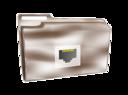 Folder Icon Plastic Net