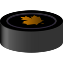 download Hockey Puck Canada clipart image with 45 hue color