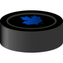 download Hockey Puck Canada clipart image with 225 hue color