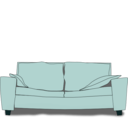 download The Couch clipart image with 135 hue color