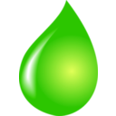 download Water Drop clipart image with 225 hue color