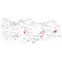 download Provinces Of Turkey clipart image with 135 hue color