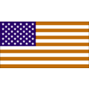download Us Flag clipart image with 45 hue color