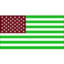 download Us Flag clipart image with 135 hue color