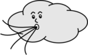 Wind Blowing Cloud