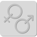 download Gender clipart image with 135 hue color
