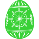 download Easter Egg Green clipart image with 45 hue color