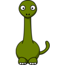 Cartoon Brontosaurus