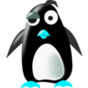 download Tux clipart image with 135 hue color